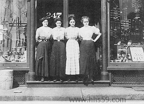 Hammond Indiana Shopping 1930s