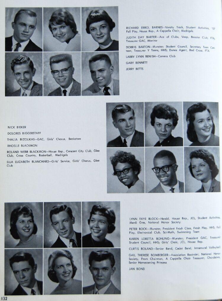 hammond high school class of 1959 senior pictures